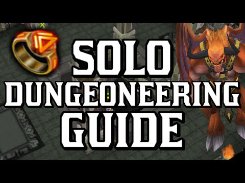 Solo Dungeoneering Guide: Tips and Strategy for Fast DG XP! [Runescape 2014]
