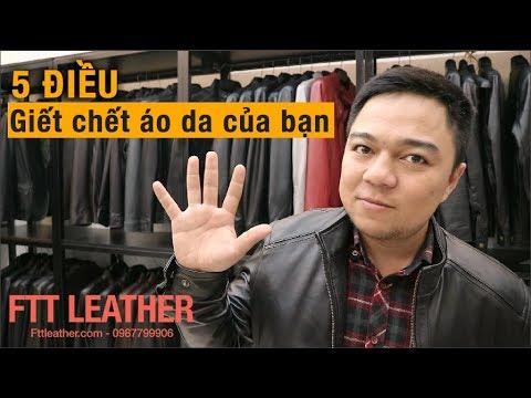 5 Điều giết chết Áo da của bạn – FTT Leather