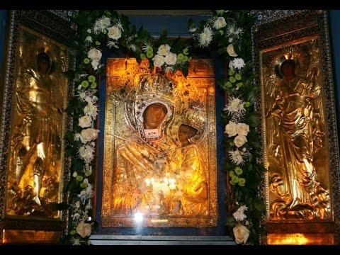 """Акафист иконе Божией Матери именуемой """"Тихвинская"""". 9 июля празднование"""