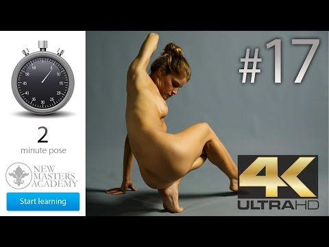 Daily Life Drawing Session #17 (Free Timed Figure Drawing Model Reference) ((Ultra HD 4k))