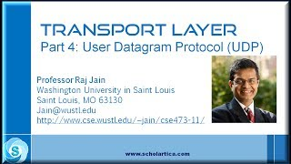 Transport Layer: User Datagram Protocol (UDP)