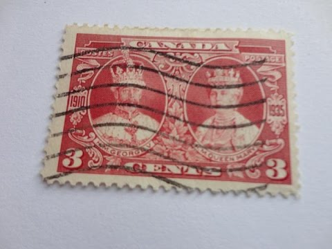 Old Time Canadian Postage Stamps Youtube