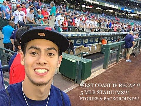 WEST COAST IP RECAP! 5 MLB STADIUMS! STORIES