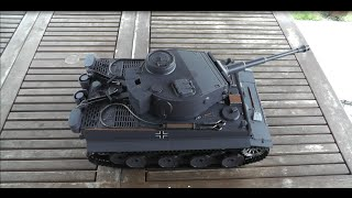 RC Tank 1:16 Taigen Tiger 1  unboxing