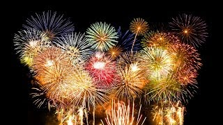 2014 New Year Fireworks Celebration All Cities Time Zones HD