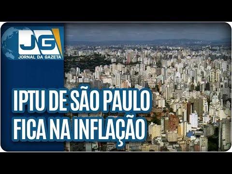 IPTU de São Paulo fica na inflação