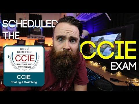 SCHEDULED THE CCIE EXAM!!