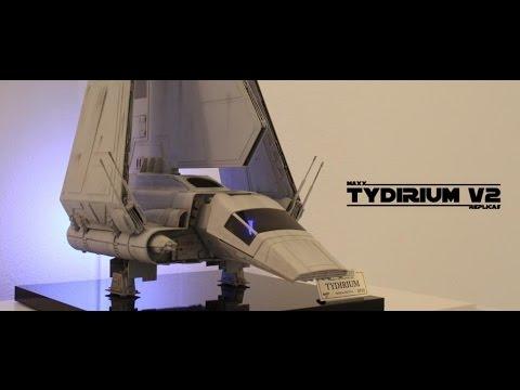 Imperial shuttle tydirium drone