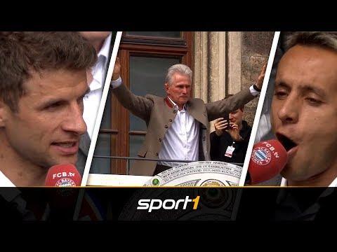 Best of! Die Höhepunkte der Meisterfeier des FC Bayern   SPORT1