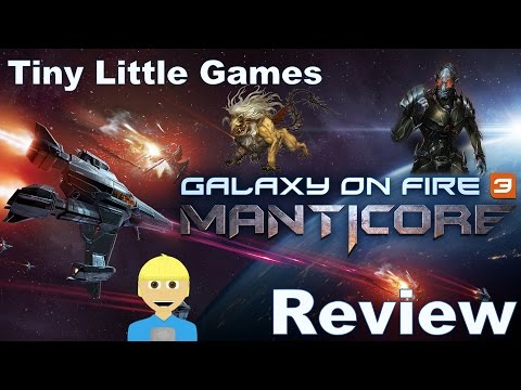 Galaxy on Fire 3: Manticore Android iOS Game Review