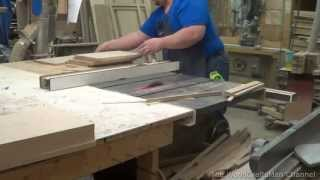Building Custom Oak Cabinets Episode 3-Making The Doors and Drawer Fronts Part 2