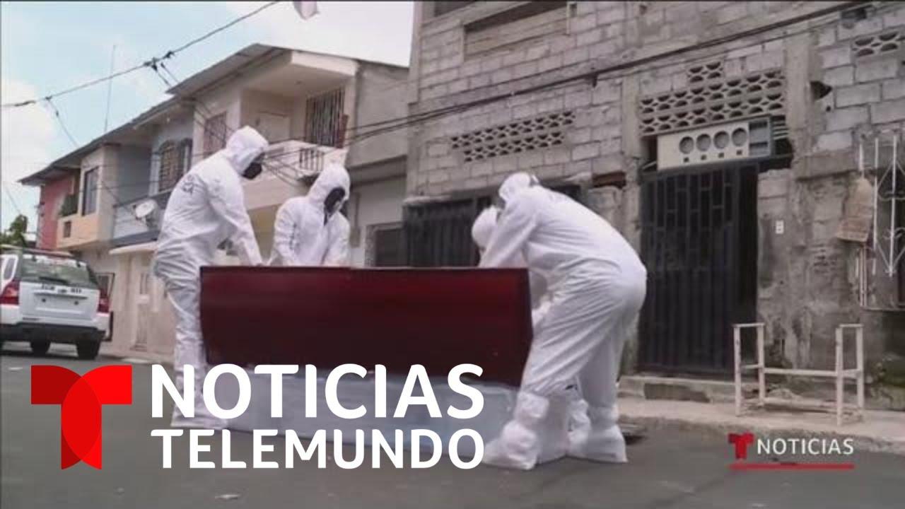 Ecuador se convierte en el epicentro de coronavirus en América Latina | Noticias Telemundo