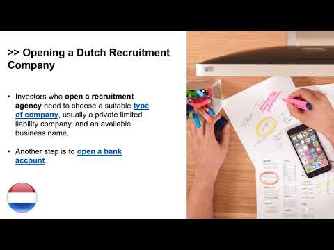 Set Up a Recruitment Company in the Netherlands