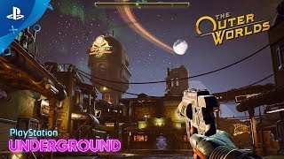 The Outer Worlds - Exclusive Edgewater Gameplay | PlayStation Underground