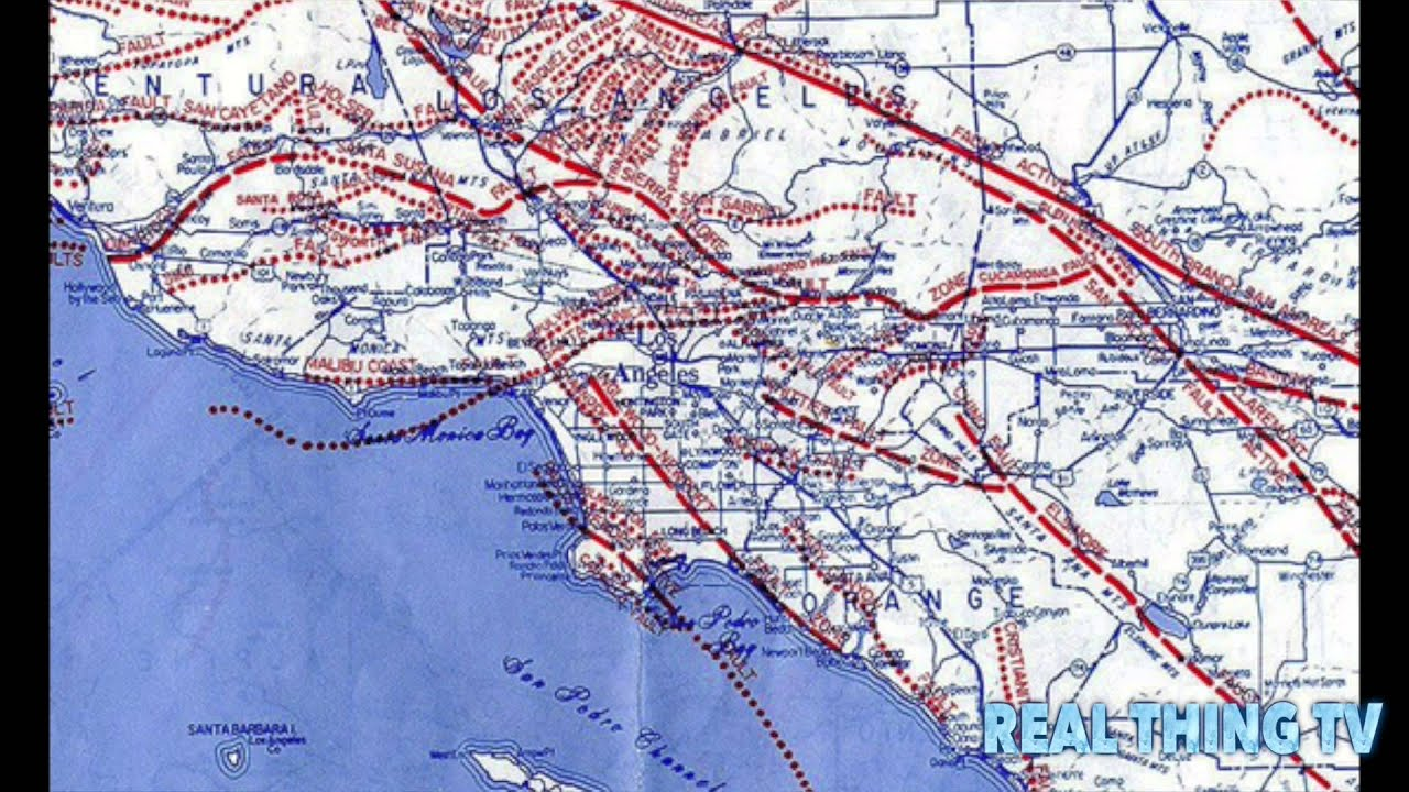 Explosive Helium Is Leaking From Massive Earthquake Fault Under - Los angeles fault zone map