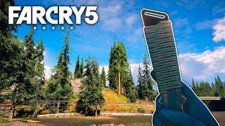 Far Cry 5 - THROWING KNIFE STEALTH KILLS (Far Cry 5 Free Roam)#51
