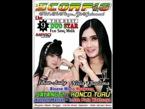 Launching Album SCORPIO Pak e Su punya Volume 9 The Best Duo Star Nella Kharisma feat Jihan Audy