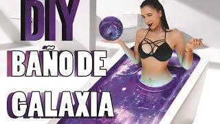 BAÑO DE GALAXIA! DIY Galaxy Bath Bomb!