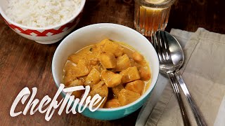 How to Make Chicken and Pineapple Curry With Rice - Recipe in description