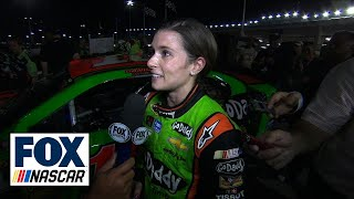 Danica Patrick Gets Best Career Finish at Kansas - 2014 NASCAR Sprint Cup