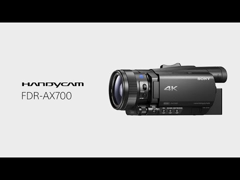Sony | Handycam® | FDR-AX700 - Product Feature - 4K HDR(HLG)