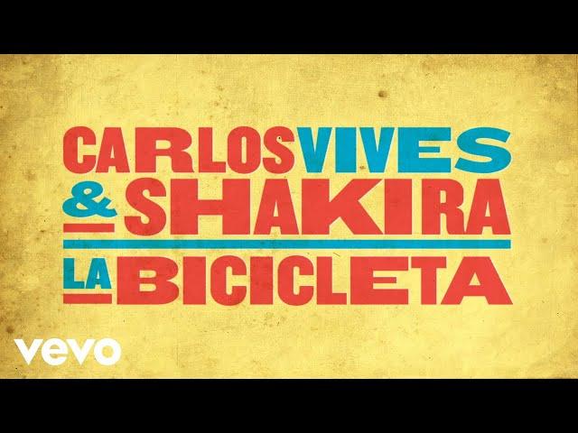 'La Bicicleta' el nuevo sencillo de Shakira y Carlos Vives
