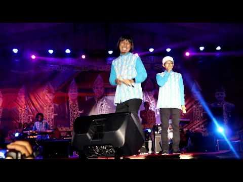 Aksi Kocak JIGO (Ex Teamlo) Nyanyi Lagu Laksamana Raja di Laut (Hut Kota Curup)
