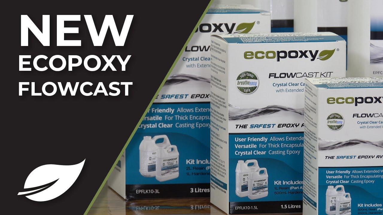 NEW! EcoPoxy FLOWCAST- Revolutionary Casting Resin