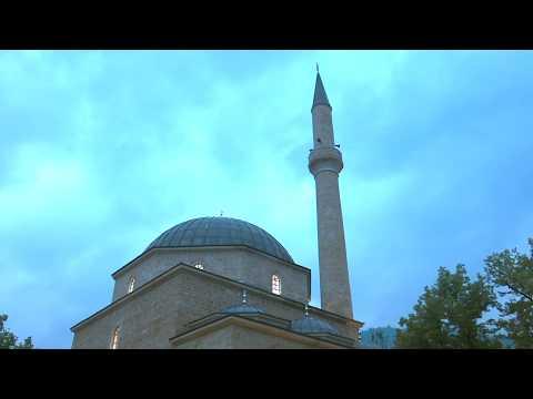 Ramadan Iftar In Bosnia -PAINTED MOSQUE IN BOSNIA - ALADŽA DŽAMIJI U FOČI -MTV IGMAN