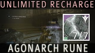 Destiny - How to charge Agonarch rune in 30 minutes!