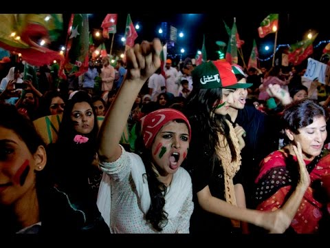 pakistan pti supporters demonstrate - 636×424