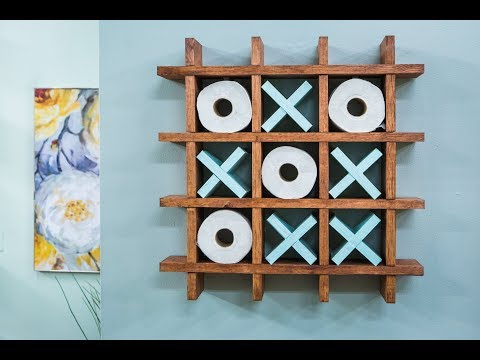 Toilet Paper Tic Tac Toe Shelf with Ken Wingard - Home & Family