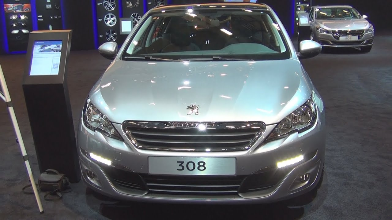 peugeot 308 active 1 6 bluehdi 120 hp eat6 2015 exterior and interior in 3d youtube. Black Bedroom Furniture Sets. Home Design Ideas