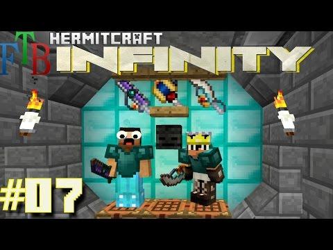 Minecraft Mods - FTB Infinity Ep. 07 - Epic Platinum Tool !!! ( HermitCraft Modded Minecraft )