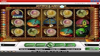 Mystery Mansion Video Slots at Redbet Casino