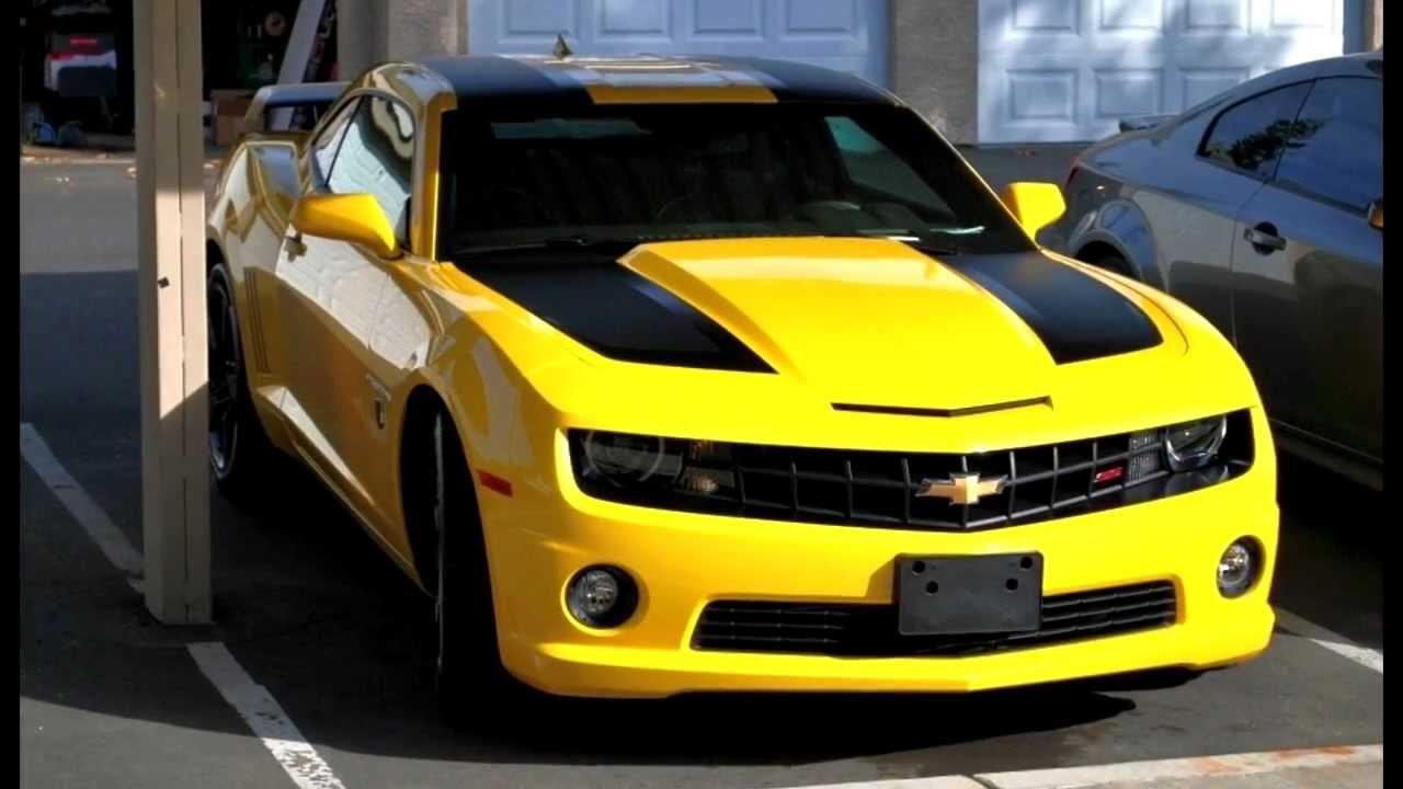 Chevrolet Camaro SS 2012 edicion Transformers  YouTube
