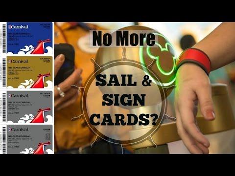 No More SAIL & SIGN CARDS?