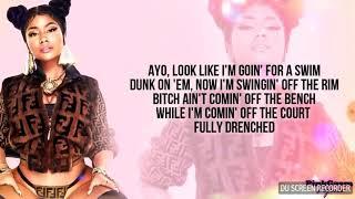 Nicki Minaj Chun-Li lyrics