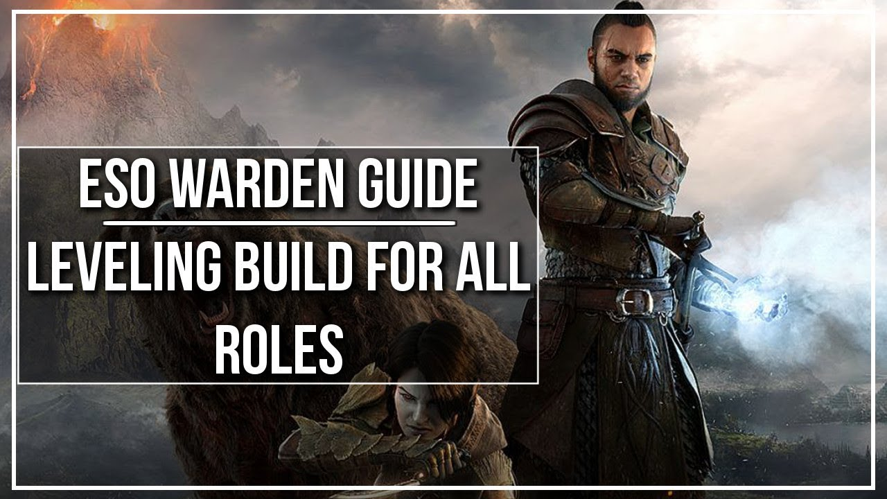 Best Race For Warden Eso 2020 ESO Warden Leveling Build (All Roles)   YouTube