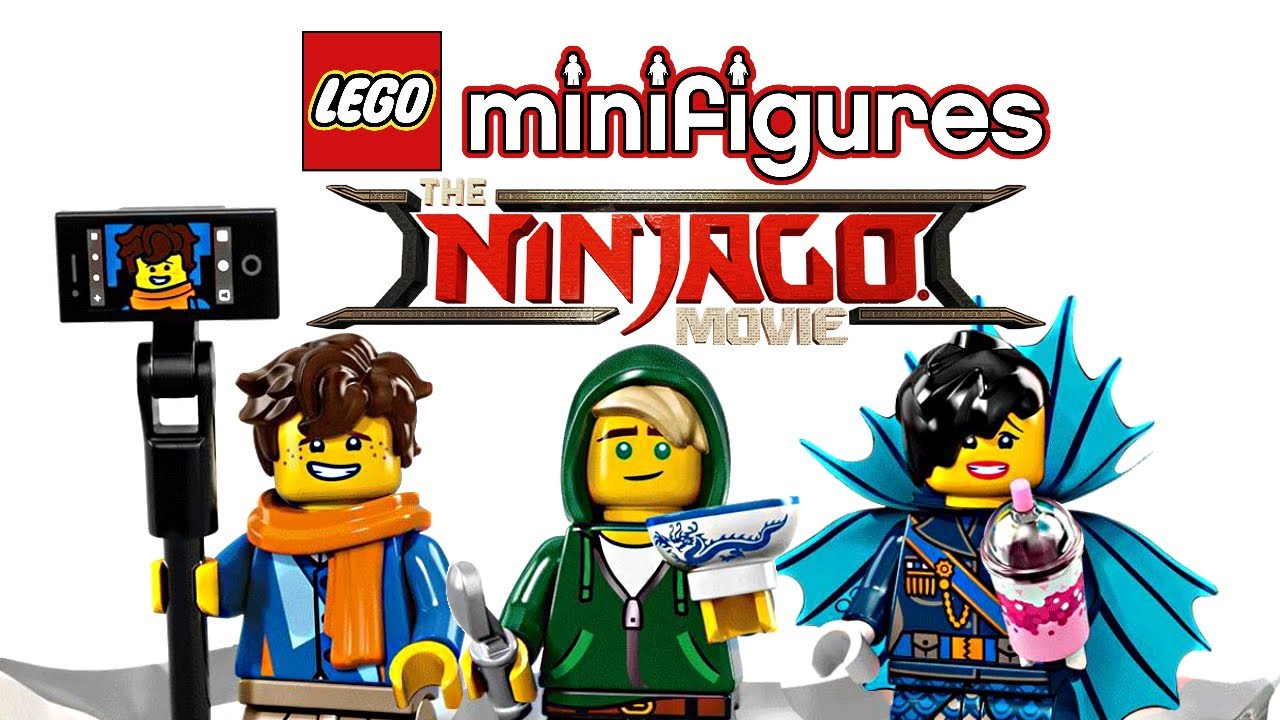 LEGO Ninjago Movie Minifigures Series - Half Revealed ...