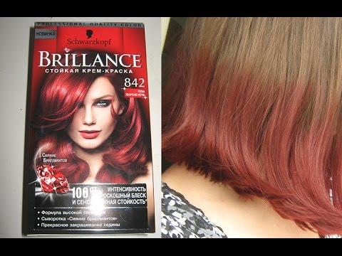 brillance schwarzkopf 842 - Coloration Rouge Schwarzkopf