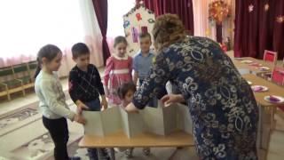 занятие c детьми в подготовительной группе
