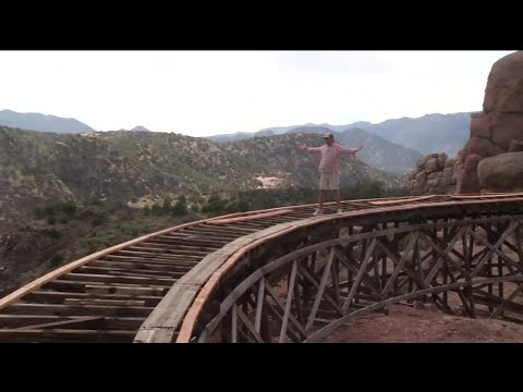 Former Royal Gorge Scenic Railway Slowly Becoming Trail System
