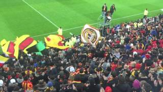 RC LENS-NIMES 15'min reprise des chants ! 2015