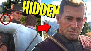TOP 10 HIDDEN Details about ARTHUR MORGAN | Red Dead Redemption 2 Secrets