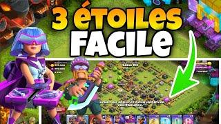 3 ÉTOILES FACILE DÉFI 9e ANNIVERSAIRE Clash Of Clans !!