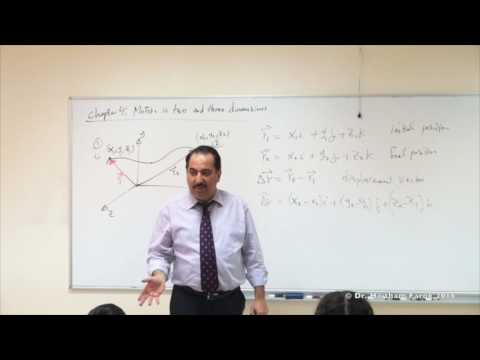 Lecture 9. Motion in two and three dimensions
