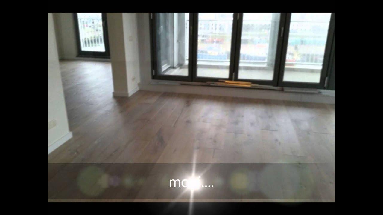 Mooie eiken houten vloer in den haag scheveningen op