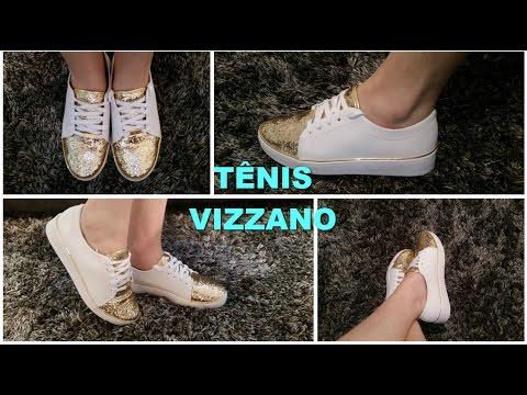 TÊNIS GLITTER VIZZANO ♡ - YouTube 28983856ad4c1