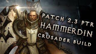 2.3 Hammerdin Crusader Build - Diablo 3 Reaper of Souls PTR